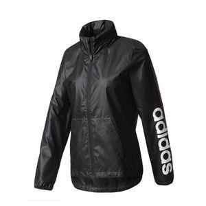 Adidas Woman's Jacket Wind breaker Black XS